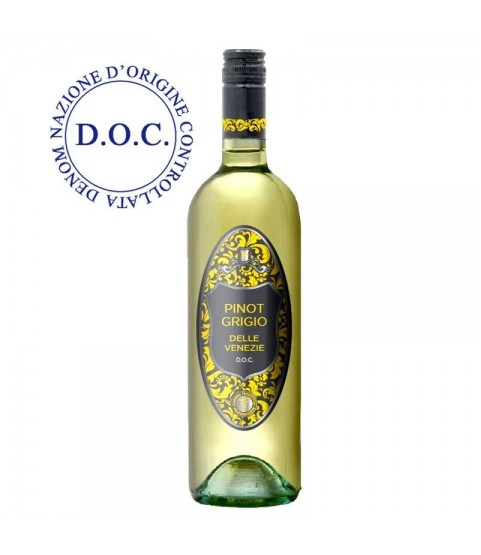 Pinot Grigio Delle Venezie DOC White Wine 750ml