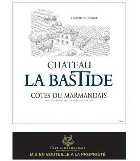 Château La Bastide Blanc, AOC Cotes du Marmandais 2018, 750ml