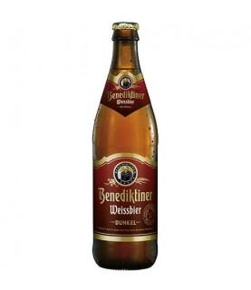 Benediktiner Weissbier Dunkel 500ml瓶x 12 / cs
