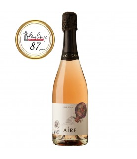 AIRE Rosé Brut Nature Cava 2015, 750ml