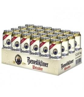 Benediktiner Weissbier 500ml Can x 24/cs