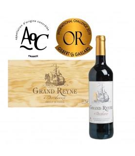 Grand Reyne [Full Case], AOC Bordeaux, 2018, 750ml x 6