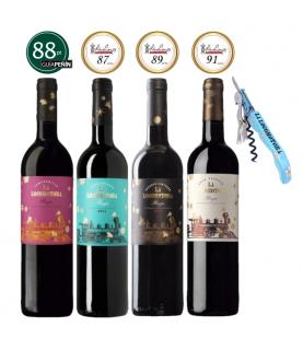 La Locomotora - Rioja Wine Experience Set, 4 X 750ml