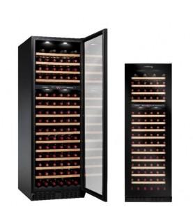 Vinvautz - Pro Black Dual Zone 125 Bottles
