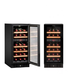 Vinvautz - Pro Black Dual Zone 28 Bottles