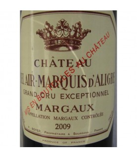 Chateau Bel Air Marquis d'Aligre, Margaux, 2009, 750ml