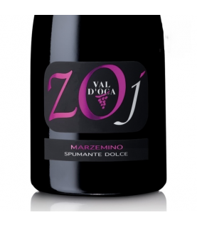 ZOJ Marzemino Rouge Dolce Spumante 750ml Val D'Oca, Italy