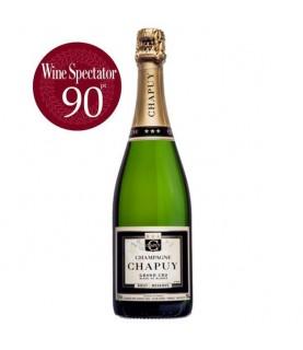 Chapuy Brut Reserve, Blanc de Blancs, Grand Cru (Magnum) 1500ml France, Champagne