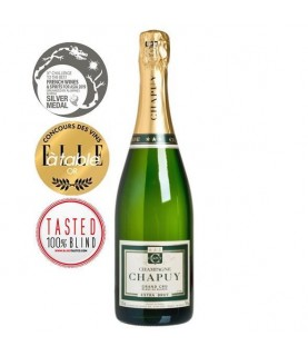 Chapuy Extra Brut, Grand Cru Blanc de Blancs, 750ml France, Champagne