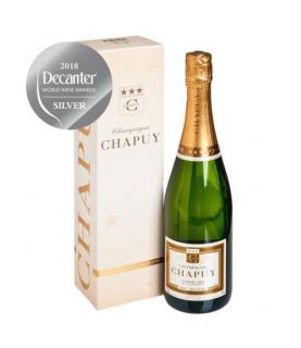 Chapuy Brut Blanc de Blancs Grand Cru Millesime 2012 750ml France, Champagne