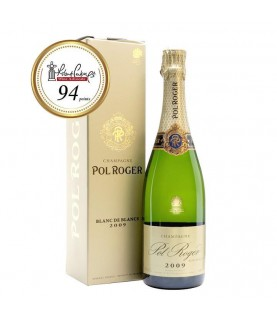 Pol Roger Brut Blanc de Blancs 2009 (Gift Box) 750ml France, Champagne