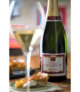 Chapuy Demi Sec Tradition 750ml France, Champagne