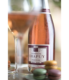 Chapuy - Brut Rose Tradition 750ml France, Champagne
