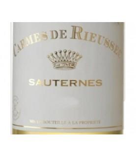 Carmes de Rieussec, Rieussec 2nd Wine, Sauternes, 2010, 375ml Sauternes, France