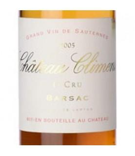 Chateau Climens, Barsac 1er Cru, 2005, 375ml Barsac, France