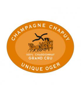 Chapuy Cuvee Unique Oger Grand Cru Blanc de Blancs Brut Nature 2014 750 ml